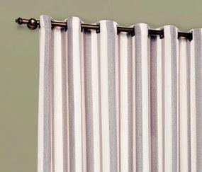 Cortina Cedra 2,00m x 1,80m Tecido Rústico Varão Simples - Cáqui