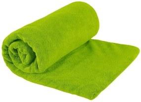 Toalha ultra absorvente Sea to Summit, ideal para qualquer tipo de atividade Tek Towel Large G Verde .