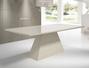 Mesa de Jantar Retangular com Vidro Tamanho ( 90cm X 180cm ) - Floripa