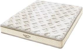 Colchão Minaspuma Saude Plus D33 Pillow 1,38X1,88X0,27 Branco