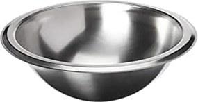 Lavabo Redondo de sobrepor Tramontina em Aço Inox com Acabamento Acetinado oval 24x 9,8 cm Tramontina 94101107