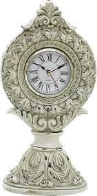 relógio JACINTO de resina 25 cm Ilunato CD0001C