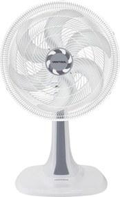 Ventilador De Mesa 30Cm 127V Turbo6 Branco Ventisol