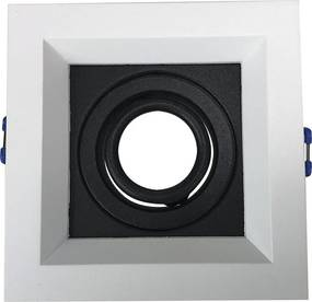 Embutido Recuado II Fundo Preto 1X Mini Dicroica - Newline - IN51301BTPT
