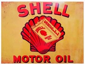 Quadro Metal Shell Motor Oil