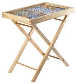 Mesa dobrável Azulejos