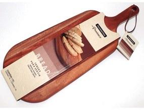 Tábua para Pão Tramontina Provence em Mogno Africano com Cabo 48x19 cm -  Tramontina