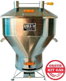 Churrasqueira a Bafo Gas ou Carvão Apolo 10 Inox - Weber
