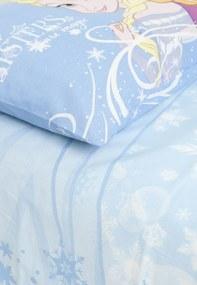 Jogo de Cama Solteiro Lepper Kids Frozen 2pçs Azul