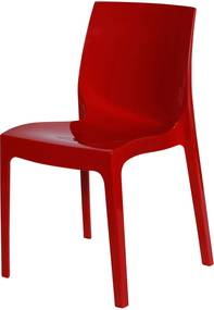 Cadeira Ice Vermelho OR Design