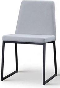 Cadeira Graty Cinza Base Preta - 50732 Sun House