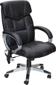 Cadeira Office Cartagena C/Massagem Preta Rivatti Móveis