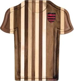 Tábua de Carne Churrasco Camisa Time de Futebol Decorativa 7415