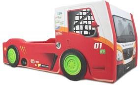 Cama Truck Cama Carro do Brasil Vermelho