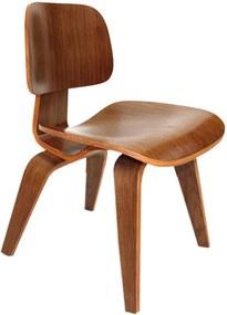 Cadeira DCW de Madeira Marrom