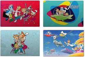 Jogo Americano Hanna Barbera The Jetsons All Fun Caracthers - 4 Peças