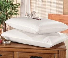 Protetor de Travesseiro Impermeável MR 70cm x 48cm Kit 02 Pçs -  Branco