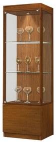 Cristaleira Edgell com Vidro - Wood Prime OC  27493