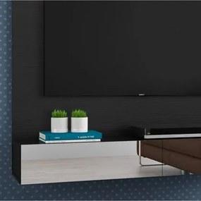Painel Home Suspenso para TV até 50 Polegadas Village Preto - Móveis Leão