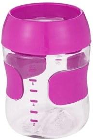 Copo Treinamento Plastico 210 ml Rosa  OXOtot