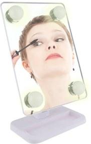 Espelho para maquiagem Vivitar Vanity Mirror com iluminaçÁo por LED e rotaçÁo 360° - Branco