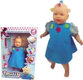 Boneca Tri-li-li Branca Zap - 1028