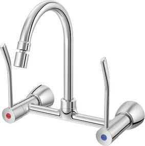 Misturador para Cozinha Parede Benefit com Alavanca Cromada - 00947206 - Docol - Docol