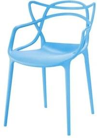 Cadeira INFANTIL Allegra Polipropileno Azul - 53323 Sun House
