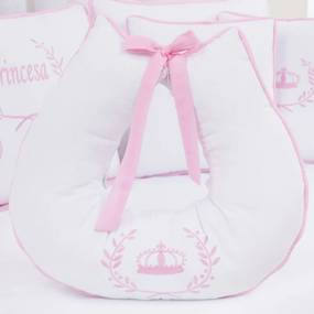 Almofada Amamentação Minha Princesa Rosa