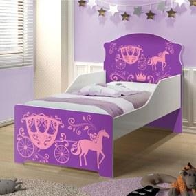 Cama Infantil Uly Carruagem de Princesa CASAH