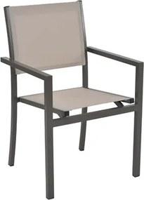 Cadeira Labrum em Alumínio - Bege