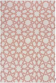 TAPETE DHURIE MOROCCAN 9 WHITE/RUST