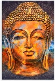 Tela Love Decor Decorativa Buda Color Laranja