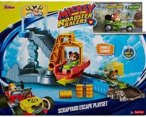 Mickey - Pista Fuga Do Ferro Velho Fisher-Price Preto