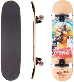 Skate Skateboard Coca-Cola - Bottling