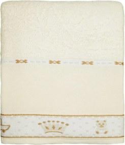 Toalha Infantil Appel Baby Amarela