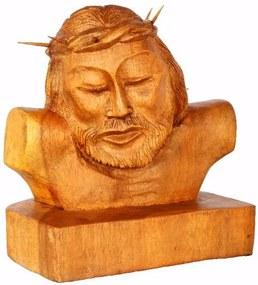 Escultura Jesus Cristo em Madeira 21cm | Bali