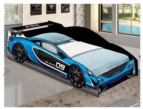 Cama Carro Force Solteiro Azul – J&A Móveis