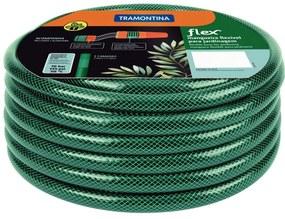 Mangueira Flex Tramontina Verde em PVC 3 Camadas 20 m com Engate Rosqueado e Esguicho -  Tramontina