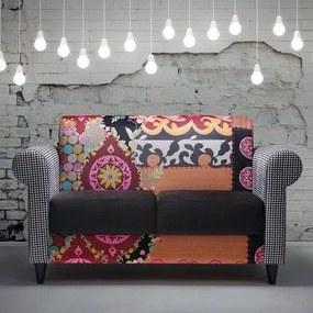 Sofá 2 Lugares Color Design - Estrutura Eucalipto Pés Madeira Maciça - Tecido Veludo Classe A