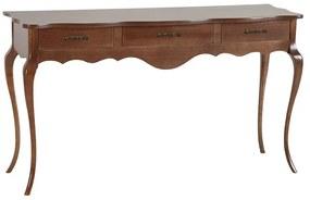 Aparador Clássico Provence 3 Gavetas Capuccino - Wood Prime SM 38789