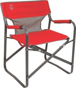 Cadeira Dobravel Steel Deck Vermelho - Coleman
