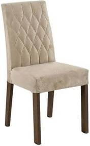 Kit 2 Cadeiras 4254 Madesa Rustic/Imperial