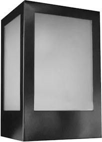 Arandela Alumínio Preta 12,5Cm X 10,5Cm