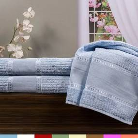 Toalha de Lavabo para Bordar Ligia - Karsten Baby blue