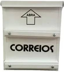 Caixa Correio para Cerca e Grades 18x9x22 Alumínio MABIO