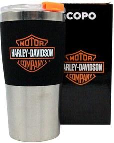 Copo Viagem Harley Davidson Motoqueiro Moto