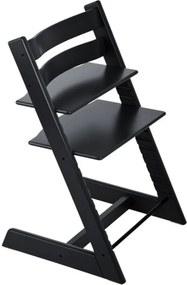 Cadeira Tripp Trapp Preta Stokke Cadeira Tripp Trapp Preta Stokke