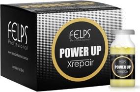 Caixa de Ampola Power Up Felps Profissional Xrepair Complexo de Vitamina 9x15ml