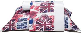 Jogo de Lençol Solteiro London 03 Peças Branco - Casaborda Enxovais